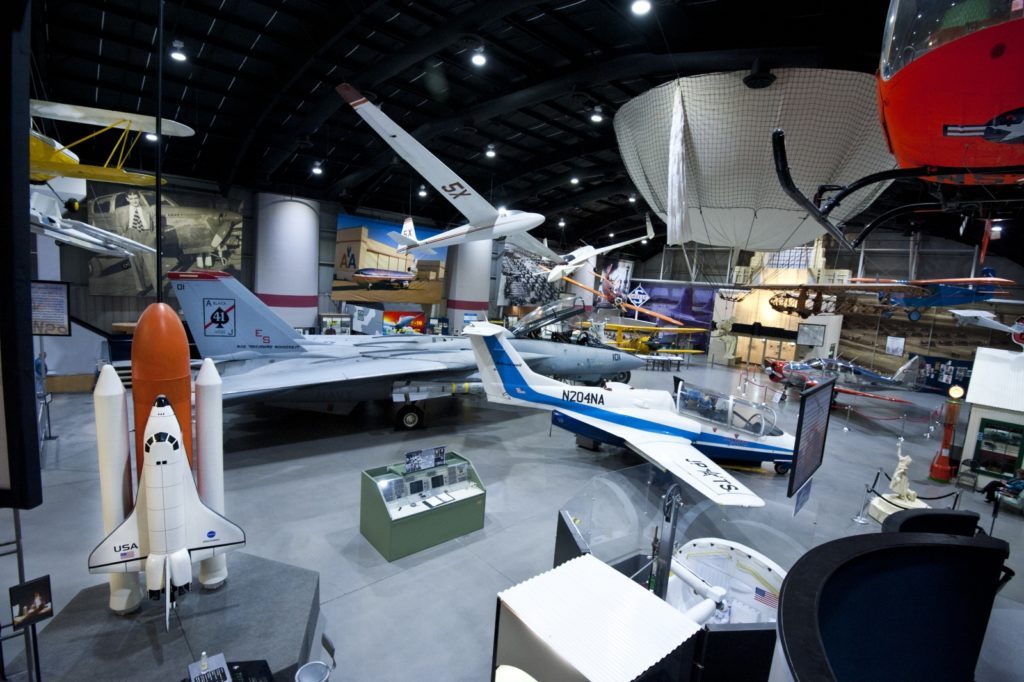 oklahoma day trips, stafford air and space