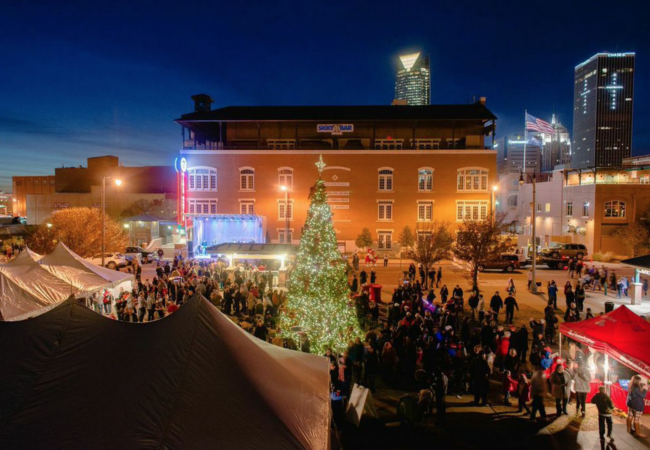 christmas events okc, holiday things to do