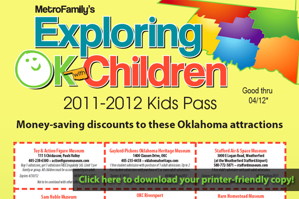 Download your copy of Kids Pass and start saving money!