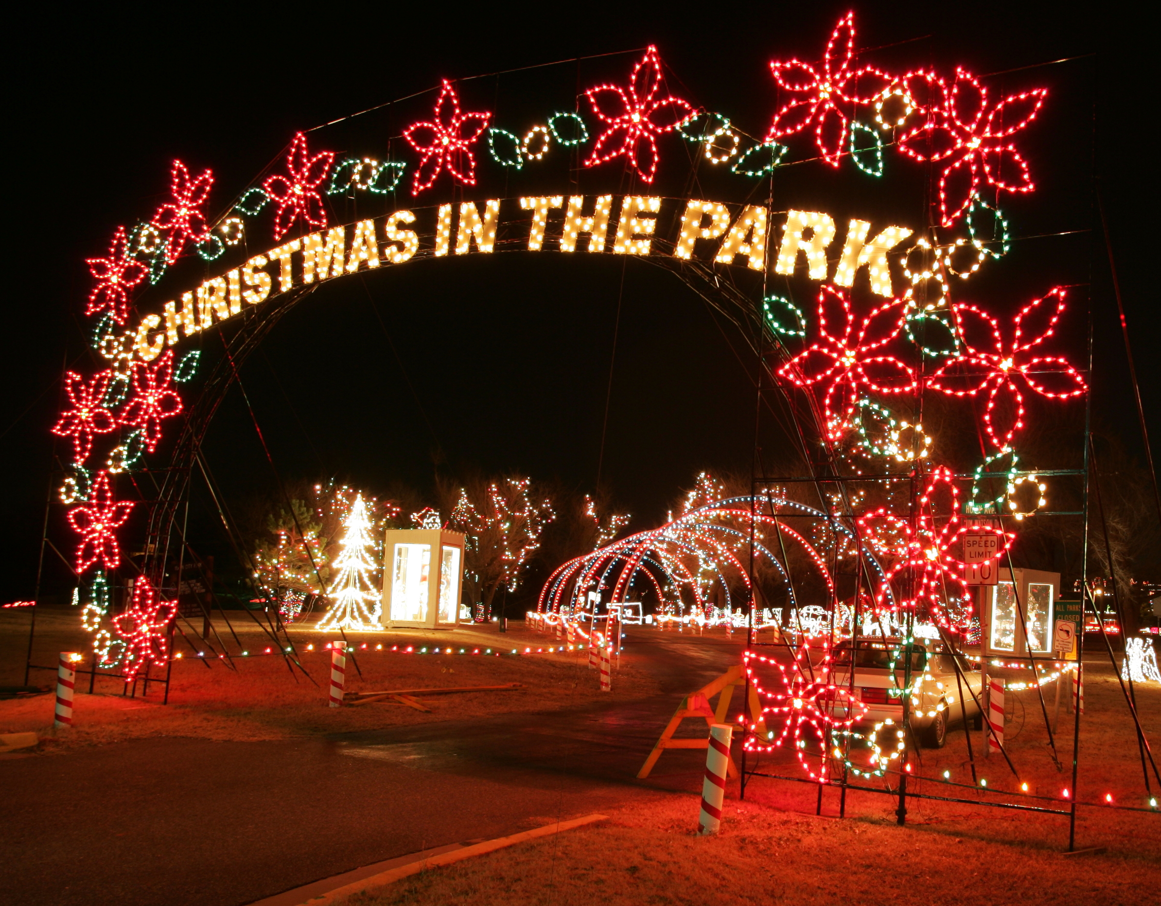 Christmas In The Park.Free Yukon S Christmas In The Park Metrofamily Magazine