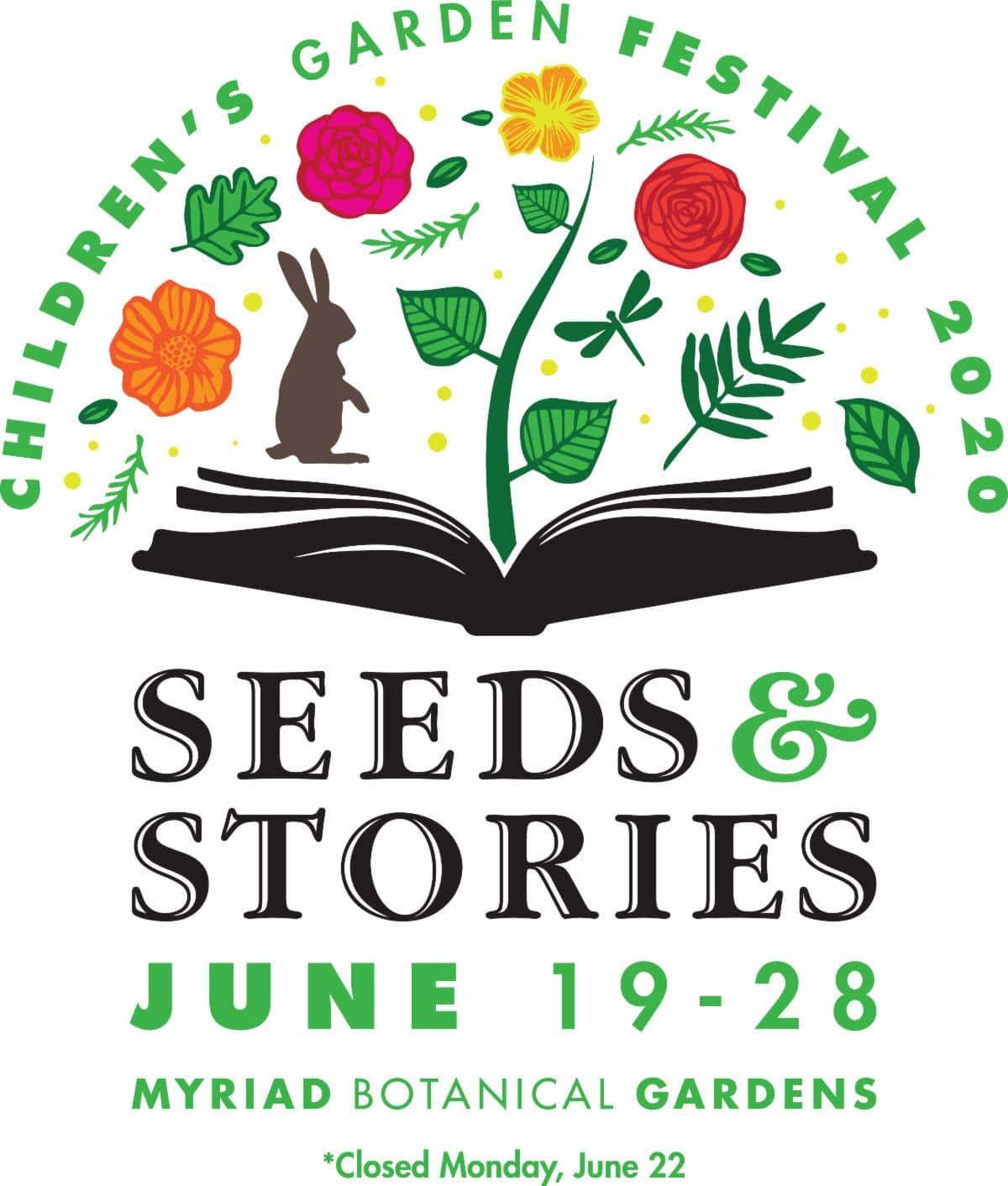 Myriad Gardens Christmas Schedule 2020 CANCELED   Children's Garden Festival: Seeds & Stories at Myriad