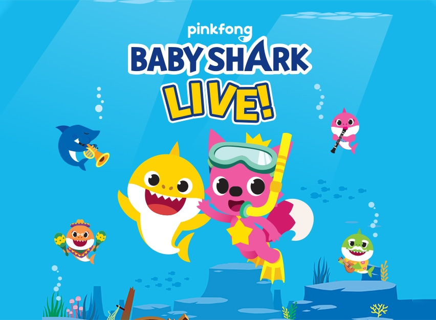 POSTPONED - Baby Shark Live! - MetroFamily Magazine
