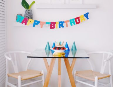at home birthday party ideas