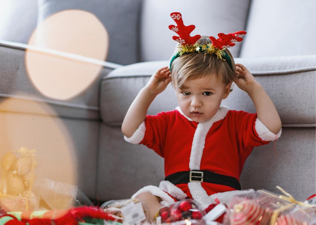 kids holiday stress, toddler meltdown